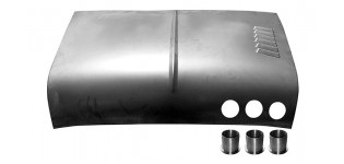 Mini Competition Bonnet Skin with Louvres & Vent Holes (40-10-28-5C not included)