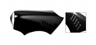 Mini Competition Front Wing with Louvres L/H Only
